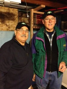 Dom & Fred - photo taken by Allen Schauffler - Dec-2012