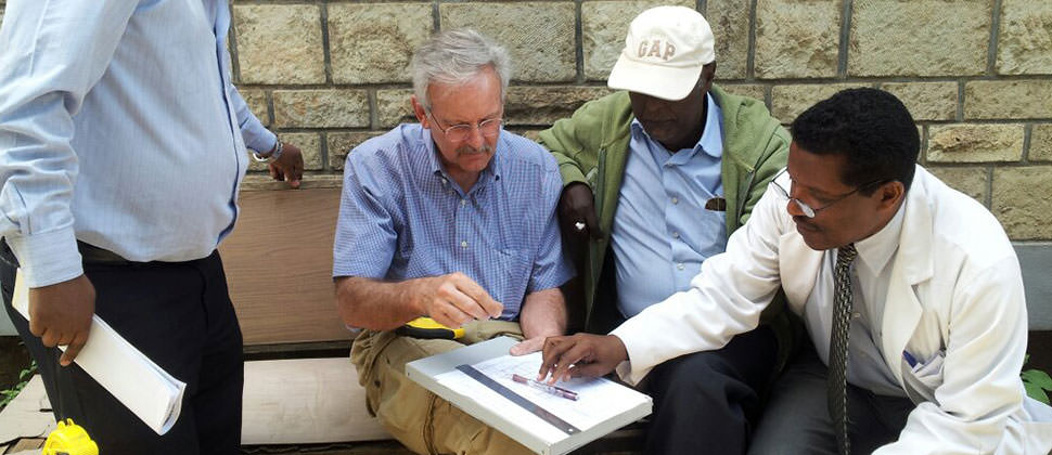 Helping build a new dialysis facility in Ethiopia