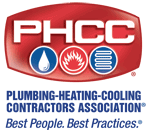 Plumbing - Heating - Cooling Contractors Association Logo