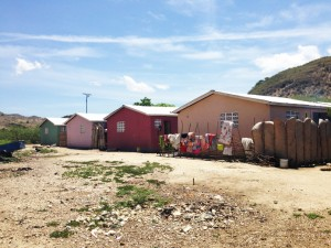 Friendship Village ― built to give shelter to Haitian earthquake victims ― was the site of the first SaTo sanitary toilet pan installed in Haiti to prevent the spread of disease through insects' contact with human waste in open pit latrines.