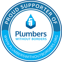 Become a proud supporter of Plumbers Without Borders