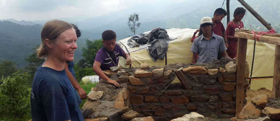 Nepal re-building efforts can benefit from your skills…
