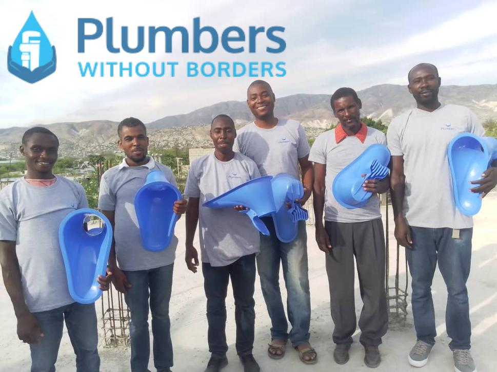 Sato toilet units reaching Haiti are making pit latrines safer and more hygienic